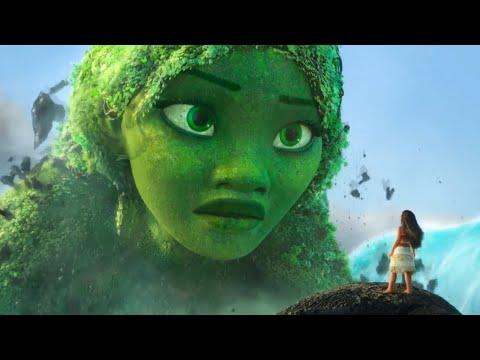 Кадры из фильма Моана
