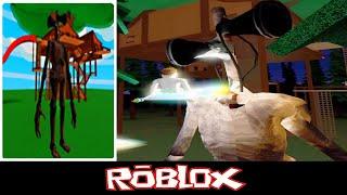 Survival The Siren head Killer By Roblox SpaceX Program [Roblox]