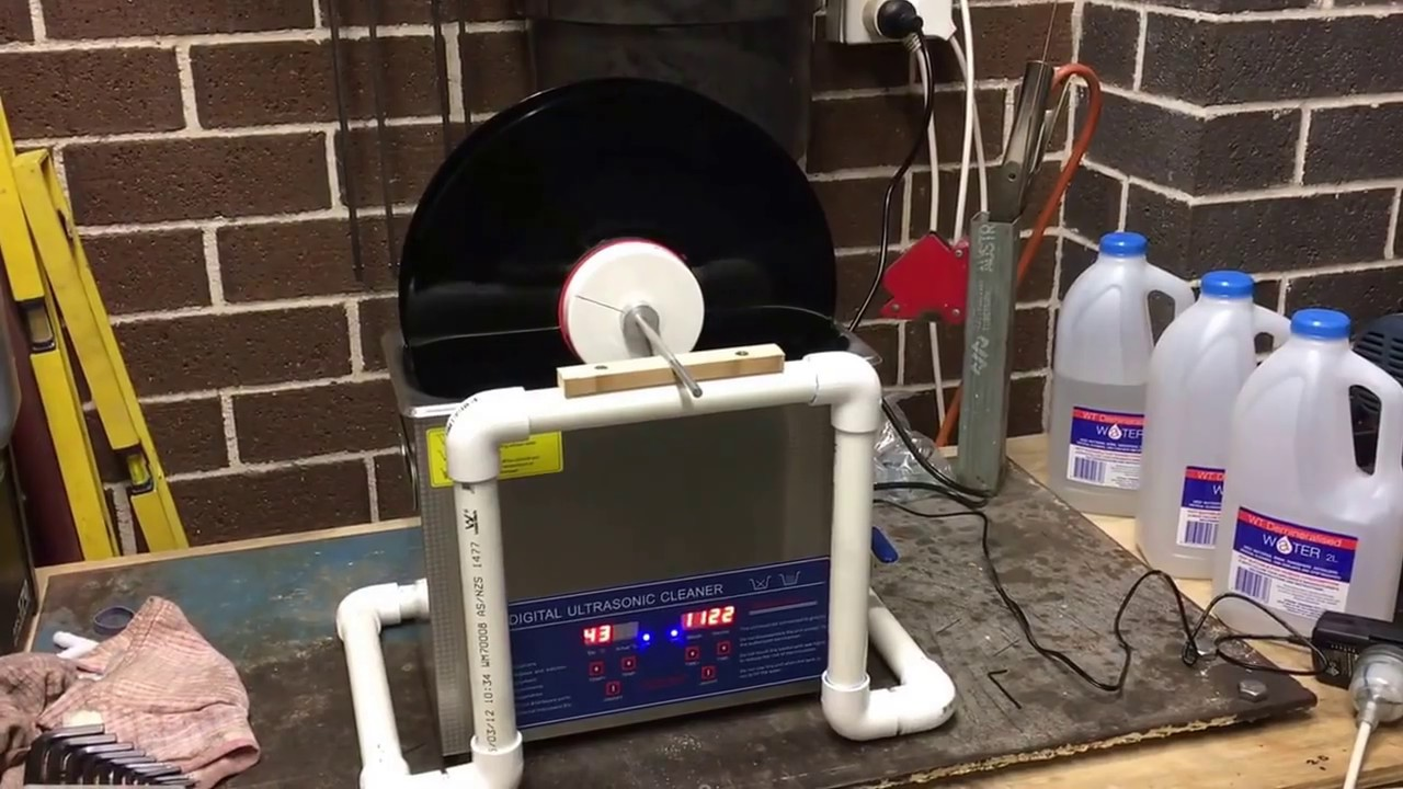 Diy Ultrasonic Record Cleaner Test Youtube