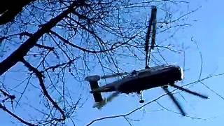 доставка бетона на высоту 2200 метров с помощью вертолета(заливают стакан под канатную дорогу в сочи., 2014-02-17T07:19:07.000Z)