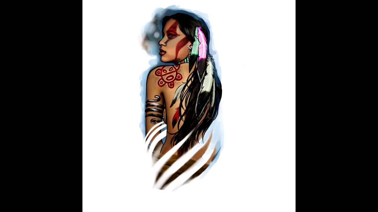 Taino woman tattoo video cisco delgato native demo youtube taino woman tattoo video cisco delgato native demo buycottarizona Image collections