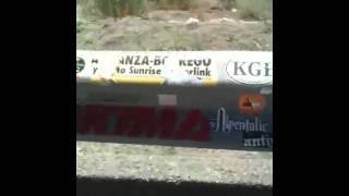 Bonus Video - Sticker Guardrail - North Eastern California Near Mammoth (Mono Lake)