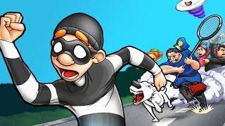 ВОРИШКА БОБ 2 Часть (ПЕРВАЯ СЕРИЯ) Весёлое видео по игре Robbery Bob 2: Double Trouble