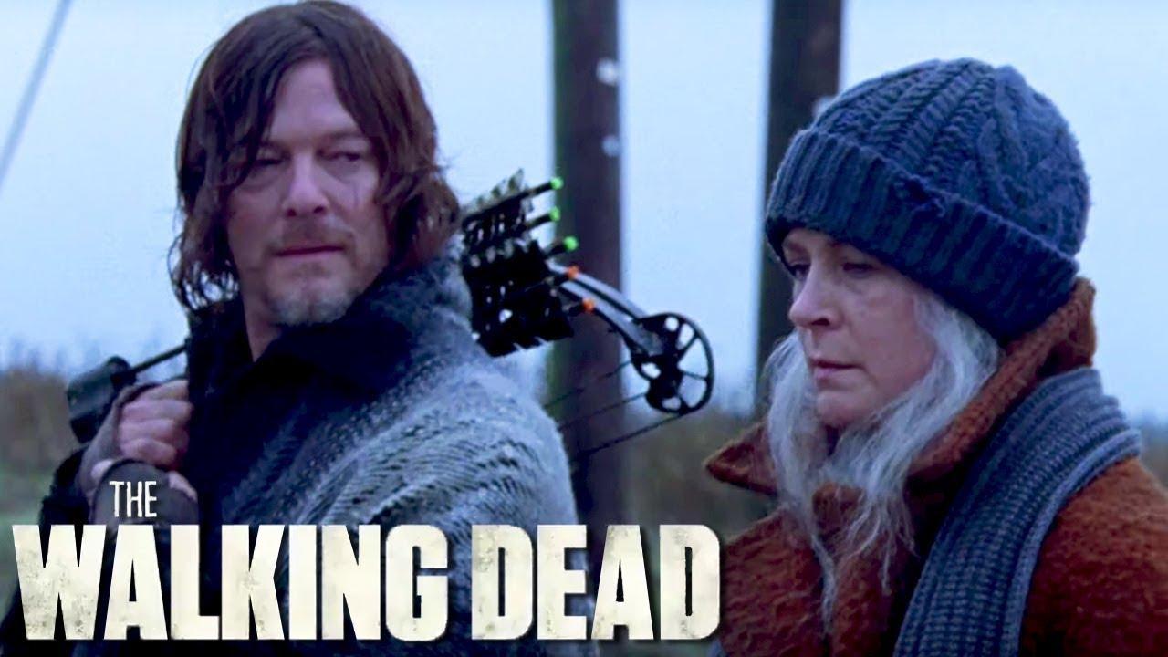 Carol and Daryl Discuss Lydia In The Walking Dead Season 9 Finale Scene