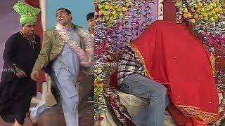 Wedding Scene | Nasir Chinyoti | Zafri Khan - Funny Stage Drama Clip