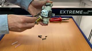 How to replace the teflon tubes when print head is clogged - Builder Extreme PRO series