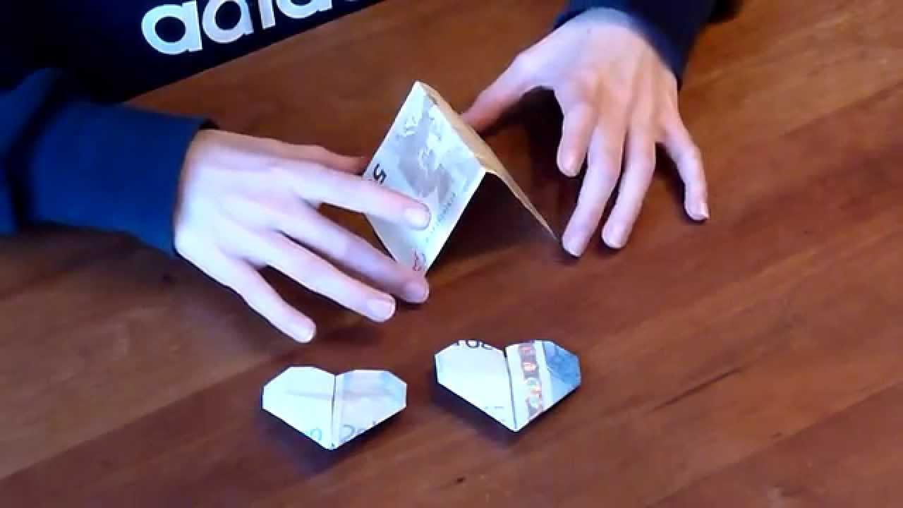 Hartje Vouwen Van Papiergeld Youtube