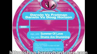 Darwin Vs Fretman Vs Doug Horizon - Drums Are Drumming, Blatant Beats - BB091