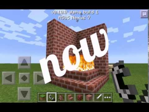 How To Make Fireplace In Minecraft Pe
