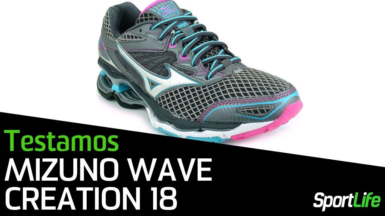 tenis mizuno wave creation 18 feminino largo