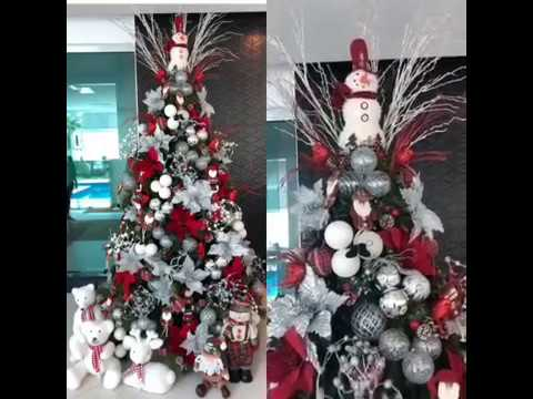 keren.. dekorasi pohon natal unik christmas - youtube
