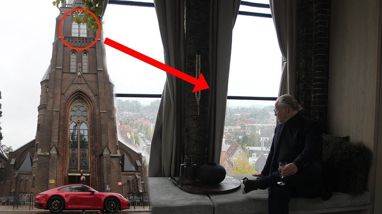 OP 30 METER HOOGTE SLAPEN IN THE CLOCKTOWER SUITE: ROOM WITH A VIEW