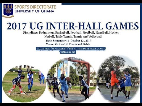 Discussuion on the 2017 University of Ghana Inter-Hall Games