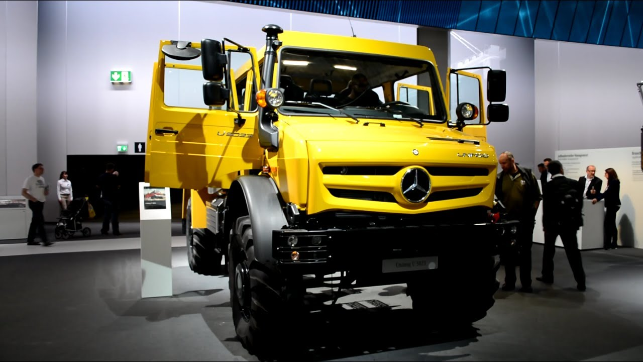 4X4 Off Road >> 2017 Mercedes Benz Unimog 4X4 U5023 - YouTube