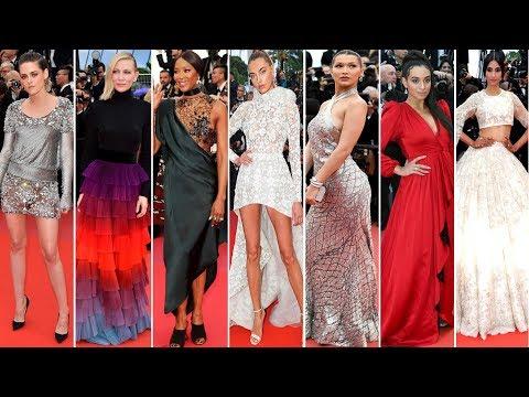 Cannes Film Festival 2018 [ DAY 7 ] Red Carpet   Full Video   Celebrity Dresses