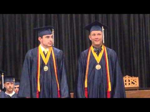 Illinois Lutheran High School 2014 Graduation Part 2 05/25/2014
