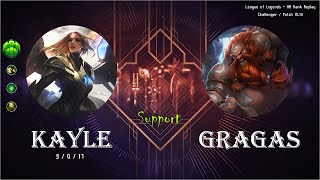 [Support] Kayle vs Gragas - KR…