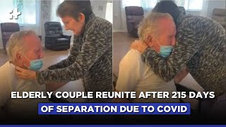 Viral Video: Elderly Couple Reunite After 215 Days Of Separation Due To COVID