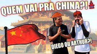 DESAFIO VALENDO UMA VIAGEM PRA CHINA! (Arthur vs Diego)