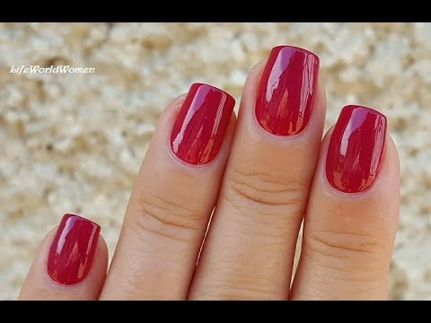 HOW TO PAINT PERFECT NAILS / Step By Step Nail Tutorial