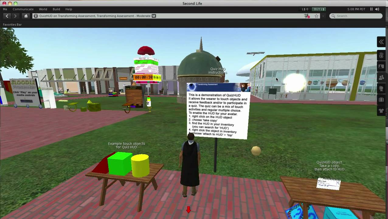 Second Life | Transforming Assessment