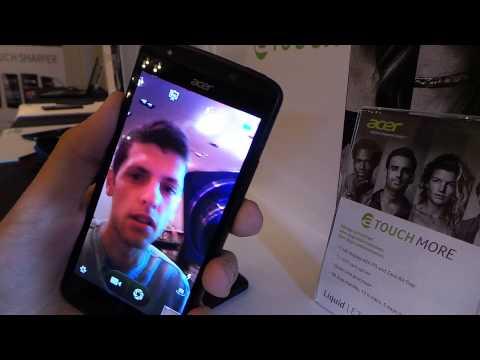 Acer Liquid E700 okostelefon bemutató videó | Tech2.hu