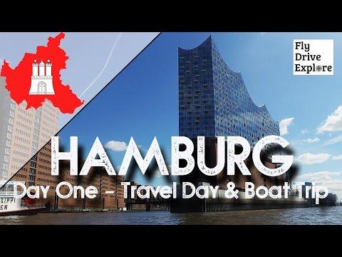 Visiting Historic HAMBURG, Day 1 - Travel Day & Boat Trip