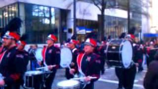 Morgan County High School Marching Band- Atlanta Christmas Parade 2011
