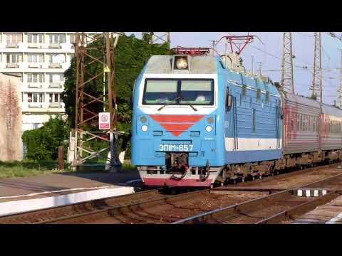 Прибытие и отправление скорого поезда №049Ч Кисловодск - Санкт-Петербург на/со станцию Армавир-1