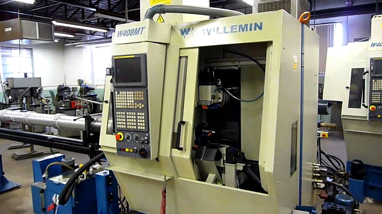Willemin Macodel Cnc 5 Axis Model W408mt Tcl Asset