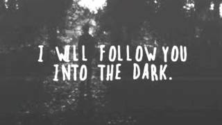 I Will Follow You Into the Dark (Death Cab for Cutie Cover)