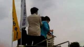 2010年06月13日小泉進次郎・宮川典子参議院選挙(山梨)
