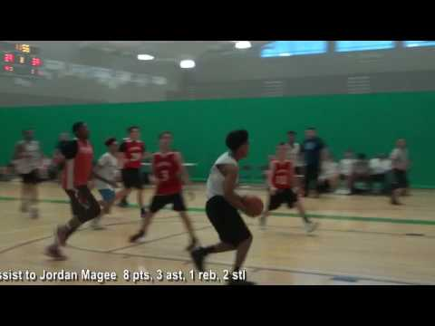 Ricky Bell RB3 HH 8 pts, 2 ast, 1 reb, 2 stl Rams vs  Orting 6 19 17 ASL