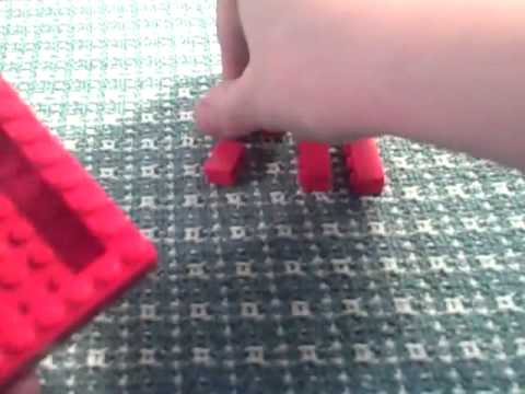 How to make a lego mini figure display case - YouTube