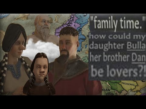 THE INCEST DYNASTY OF SARDINIA! FAMILY TIME WITH MY SON AND DAUGHTER Crusader Kings 3