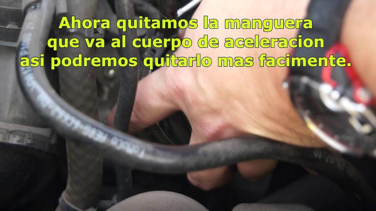 Limpieza De Cuerpo De Aceleracion Y Maf En Ford Fiesta Kd