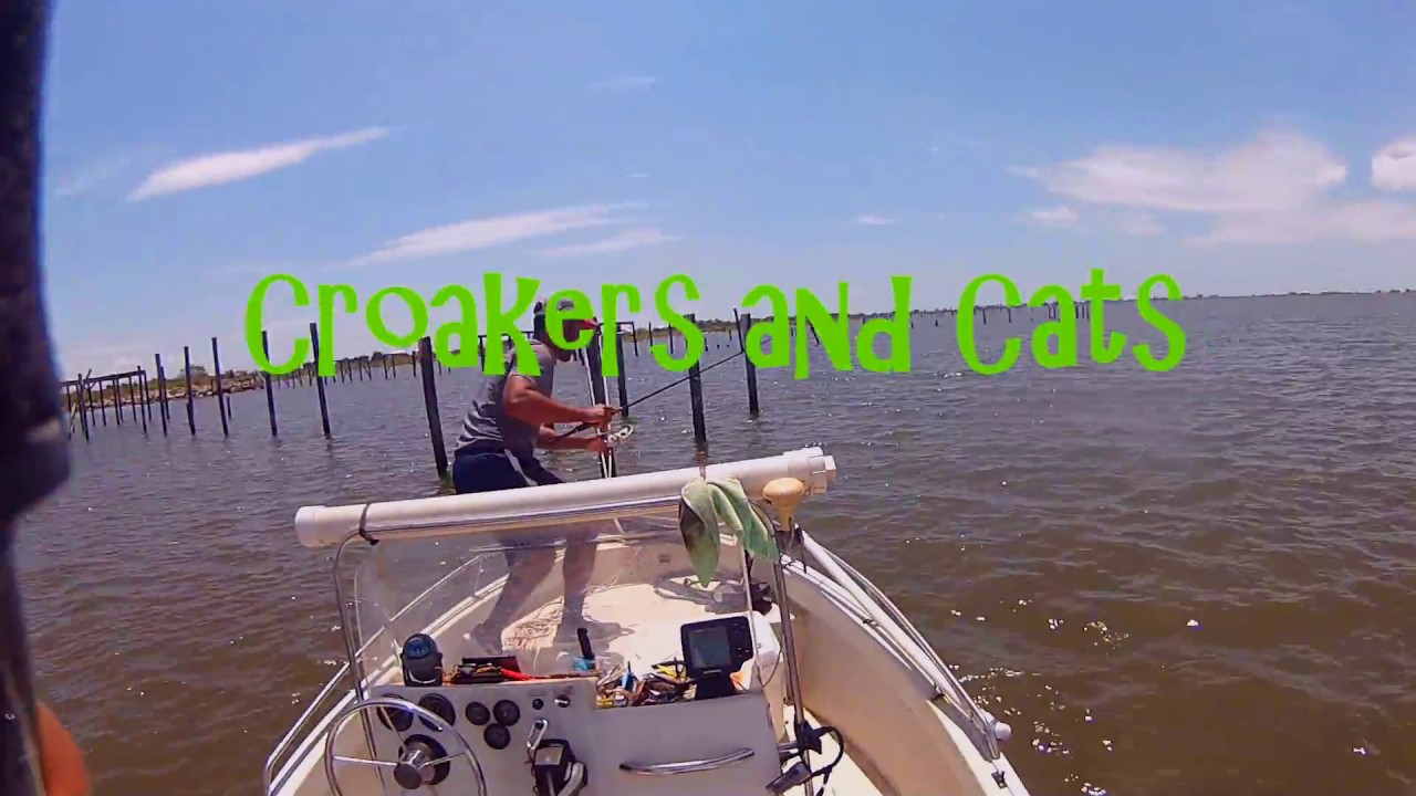Croaker fishing lake pontchartrain youtube for Fishing lake pontchartrain