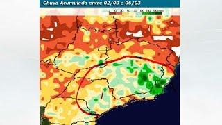 Chuva no BR para 15 dias (até 16/3/18)