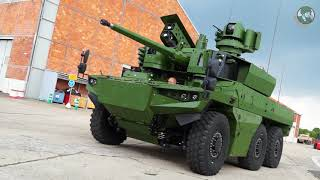 Exclusive insight into French industry's review Jaguar 6x6 armored vehicle first prototype