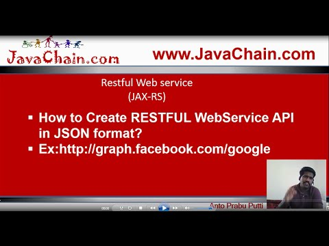 How to create RESTFUL API in JSON format...