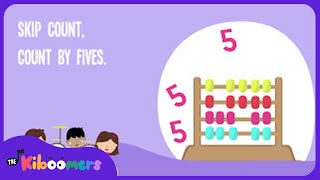 Counting By 5's Songs | Skip Counting by 5 Songs for Kids | The Kiboomers