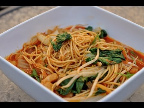 recipes ramen youtube World Kimchi Flavor Recipe YouTube of  Korean Ramen /  Cooking