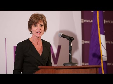 Deputy Attorney General Sally Quillian Yates