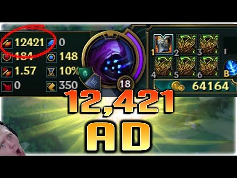 12421 AD - NEW LEAGUE OF LEGENDS WORLD RECORD