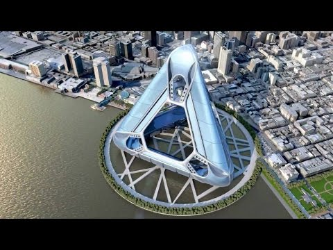 National geographic  - MegaStructures   -     New Orleans Floating City