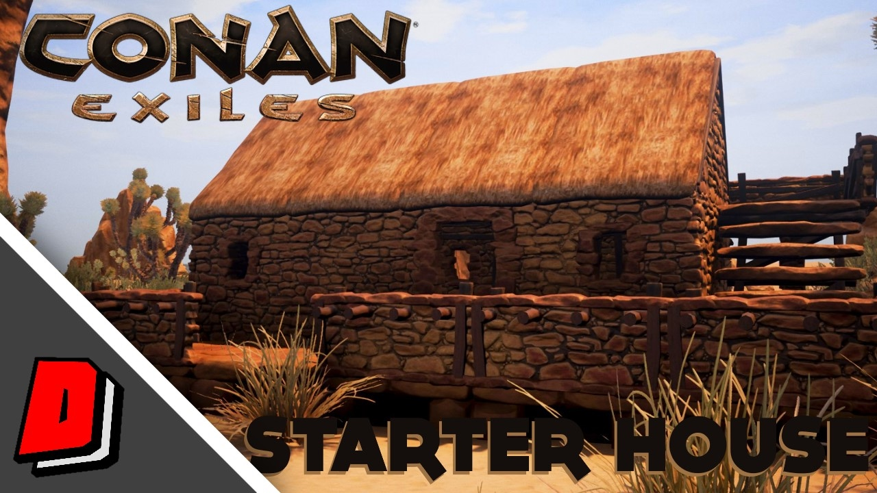 Conan Exiles Gameplay Early Access Starter House