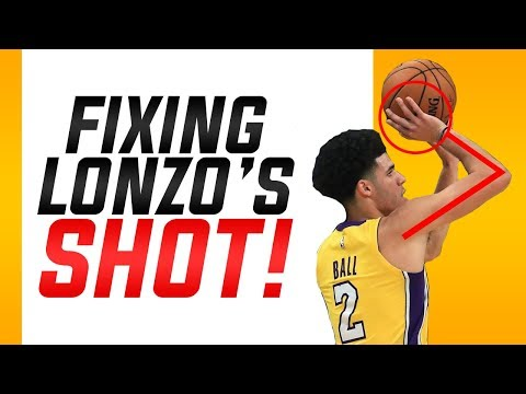 Fixing Lonzo Ball's Shooting Form: Basketball Shooting Form