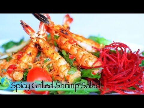 Thai Restaurant Week 2013 – Spicy Grilled Shrimp Salad – Mai Thai Restaurant