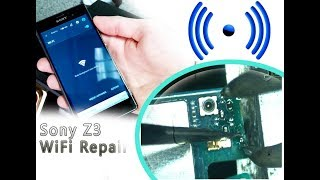 Sony Xperia Z3 (D6603) WiFi not work repair tutorial / Нет подключения Wi-Fi | Selekt