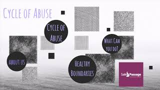 Cycle of Abuse and Healthy Boundaries Part 2